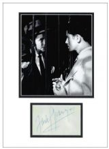 Farley Granger Autograph Signed Display - Strangers On A Train